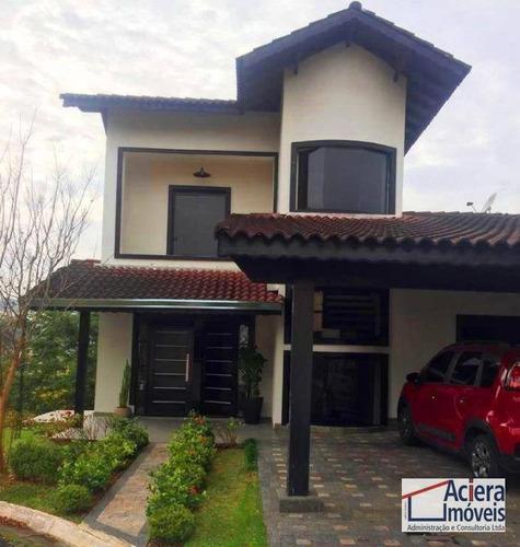 Casa Com 3 Dormitórios À Venda, 199 M² - Parque Das Rosas - Cotia/sp - Ca2447