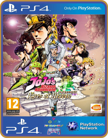 Ps4 Jojos Bizarre Adventure Eyes Of Heaven Bundle Psn 1