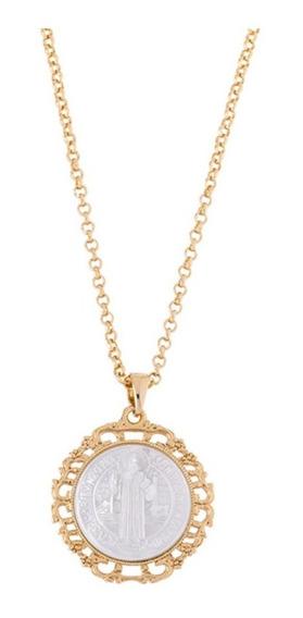 Collar Perla San Benito / 4 Baños De Oro 18k