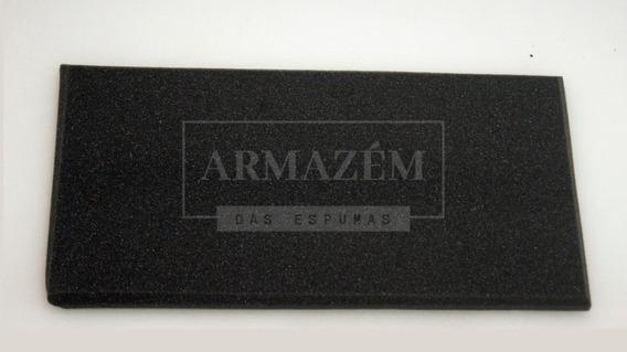 Espuma Acústica Kit C/ 10 Placas - 50cm X 25cm X 2cm - Lisa
