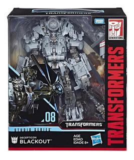 Transformers Decepticon Blackout Studio Sobre Ruedas Juguete