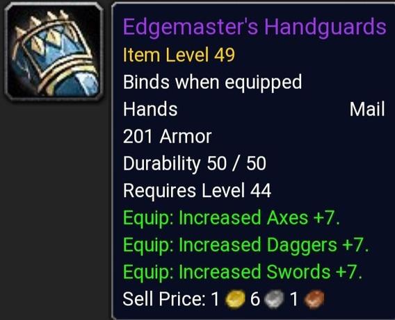 Thalnos Wow Classic Horda Edgemaster