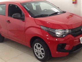 Fiat Mobi Easy On 1.0 2017 Vermelha Flex