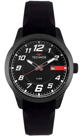 Relógio Technos Masculino Black Esportivo 2115mov/8p