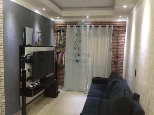 Apartamento Com 2 Dorms, Morada Das Vinhas, Jundiaí - R$ 215 Mil, Cod: 8921 - V8921