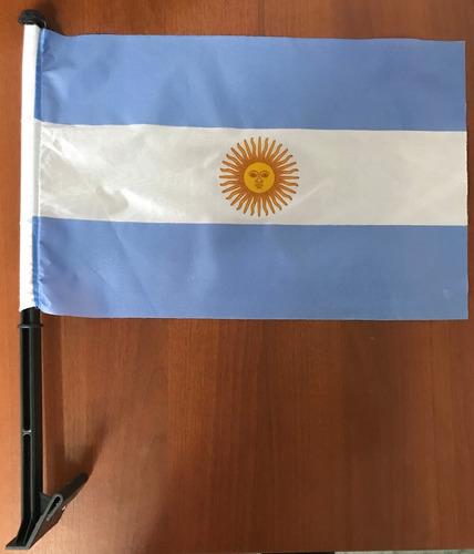Bandera Para Ventanilla De Autos Argentina Carflag 30x45cm