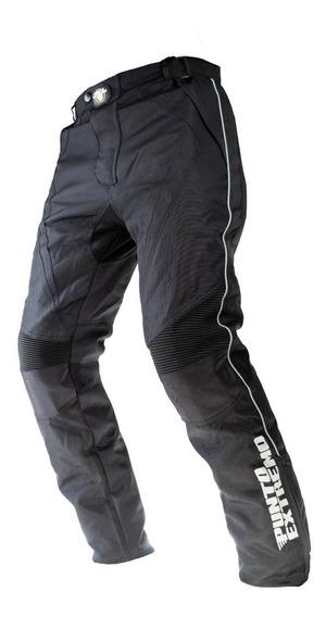 Pantalon Moto Cordura Abrigo Desm Impermeable Punto Extremo