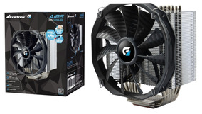 Cooler Cpu Gamer Fortrek Air6 140mm Intel Amd Frete Grátis