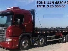Scania P94 310 8x2 Ano 15/15 C/ Carroceria 10.5 Mts