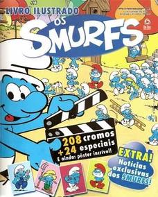 Álbum Os Smurfs. Livro Ilustrado Vazio.