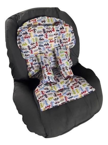 Capa Para Cadeira Auto Infantil Meninos + Acolchoado
