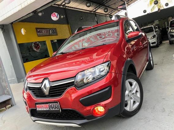 Renault Sandero Stepway 1.6 Expression 2019 Vermelho