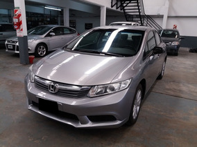 Honda Civic 1.8 Lxs Mt 140cv 2012 Gris