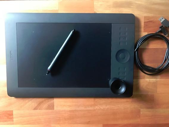 Pen Tablet Intuos 5 Média - Pth650l - Mesa Digitalizadora