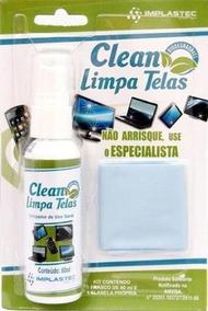 Limpa Telas Clean 60ml C/ Flanela