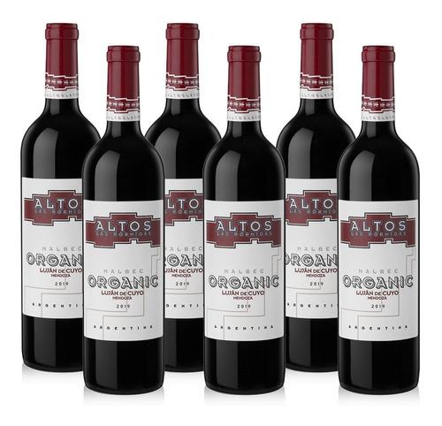 Imagen 1 de 4 de Vino Altos Las Hormigas Organic Malbec  - Caja 6 X 750ml