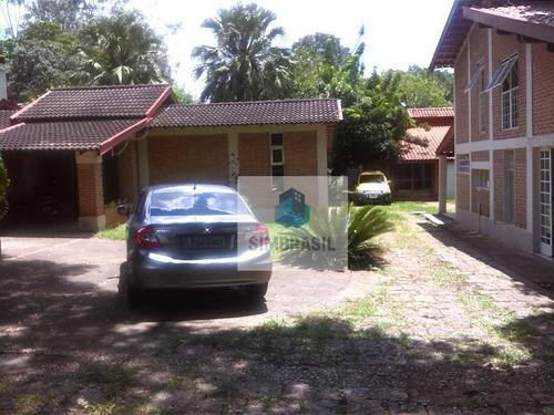 Chácara Residencial Com 3 Casas  À Venda, Chácara Santa Margarida, Campinas. - Ch0007