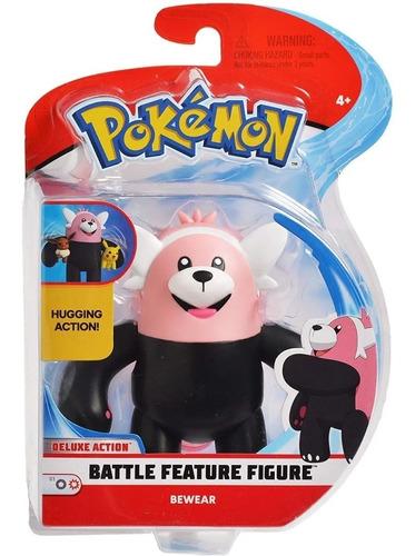 Imagem 1 de 1 de Pokemon Boneco Battle Feature Figure Bewear Dtc 4843