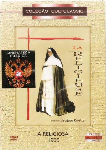 Dvd A Religiosa, De Jacques Rivette  Base Em Denis Diderot +