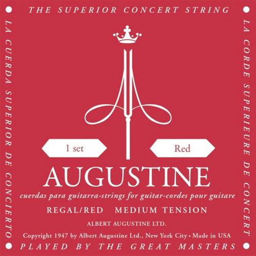 Encordado Augustine Red Tension Media Cuerdas Criolla