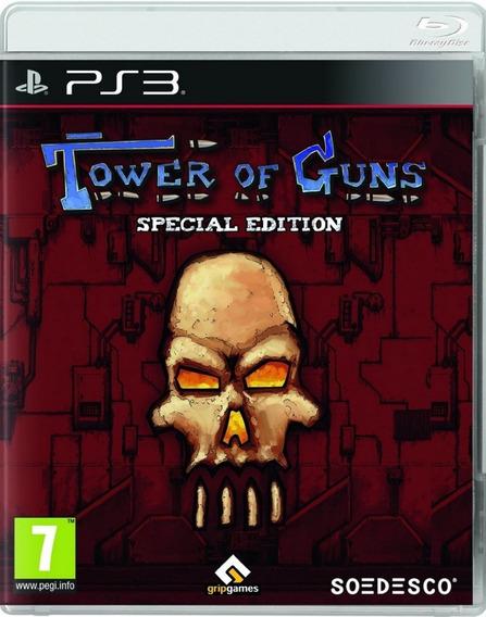 Tower Of Guns Special Edition Ps3 Novo Mídia Física