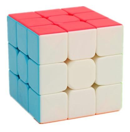 Cubo Rubik Qiyi Warrior, Sin Calcomanias (9 Green)