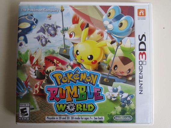 Pokémon Rumble World Nintendo 3ds - Mídia Física Usado