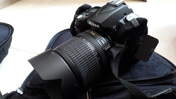 Câmera Nikon D90 Com Lentes 18-105mm