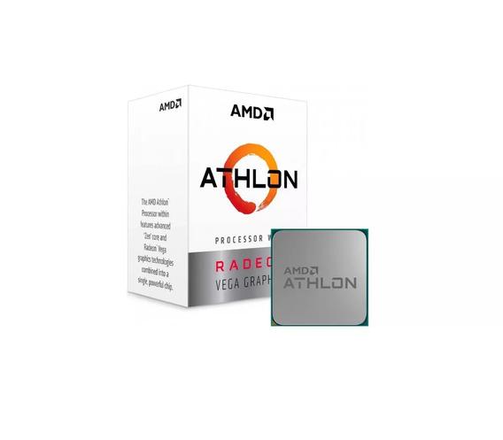 Kit Amd Athlon 200ge Vega 3 + A320m + 2x4gb Ddr4 2400mhz