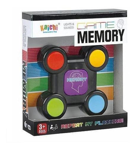 Juego De Memoria Interactivo Memory Game Luces Y Sonidos