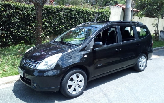 Nissan Grand Livina 1.8 Sl Flex/gnv Aut. 7 Lugares