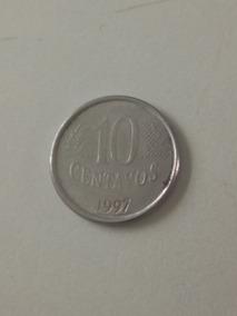 Moeda De 10 Centavos Do Real De 1997