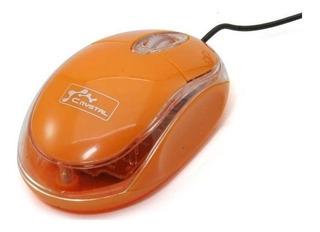 Mouse Crystal CY-629A naranja