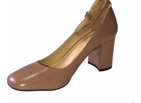 Sapato Fechado Salto Médio
