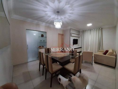 Apartamento Com 3 Dormitórios À Venda, 97 M² Por R$ 760.000,00 - Condomínio Mondo Itália - Vinhedo/sp - Ap0424