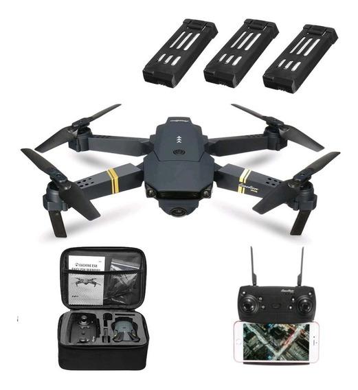 Drone Eachine E58 Câmera Wifi Full Hd 1080p - Mavic Fly More
