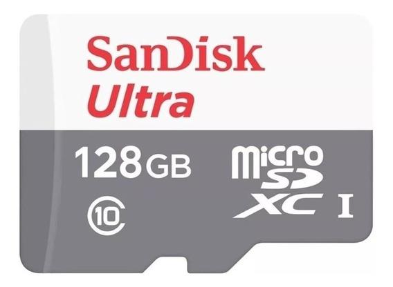 Cartão De Memória Sandisk Ultra 128gb Sdsquns-128g Origina
