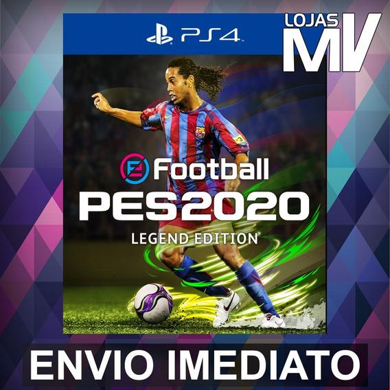 Pes 2020 Legend Edition Ps4 Codigo De 12 Digitos