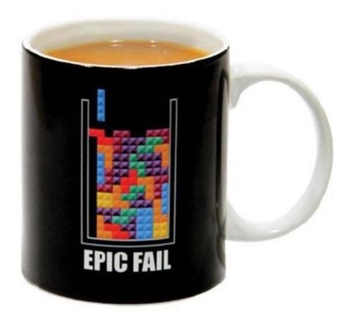 Imagen 1 de 2 de Taza Tetris Error Épico