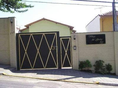 Sobrado Residencial À Venda, Planalto Paulista, São Paulo. - So0020