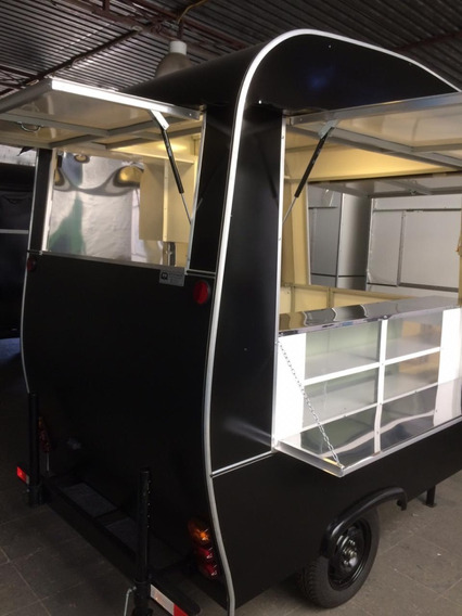 Food Truck Trailer Modelo Retrô - Novo 2020! Pronta Entrega
