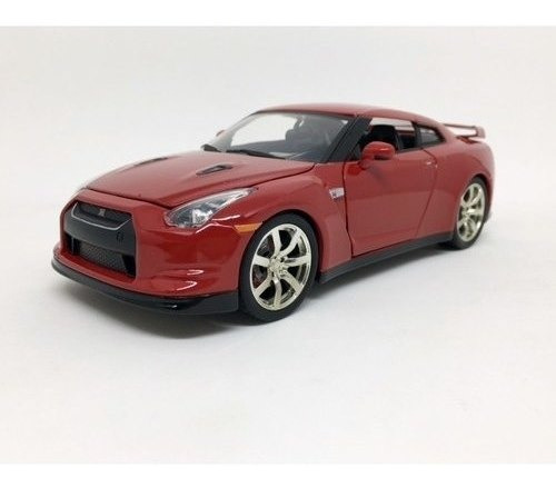 Miniatura Nissan Gt R R35 2009 Vermelho 1:24 Jada Toys