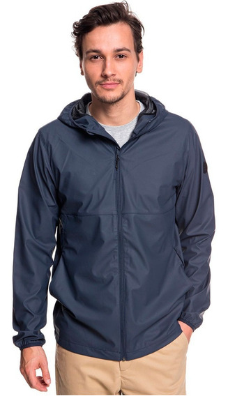 Chamarra Hombre Casual Impermeable Con Capucha Quiksilver