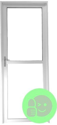 Imagen 1 de 1 de Puerta Exterior De Aluminio Todo Vidrio S30 800x2000