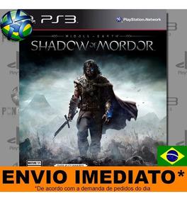 Ps3 Middle Earth Shadow Of Mordor   Envio Imediato- Promoção