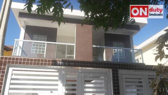 Casa Com 3 Dormitórios À Venda, 100 M² Por R$ 525.000 - Macuco - Santos/sp - Ca0567