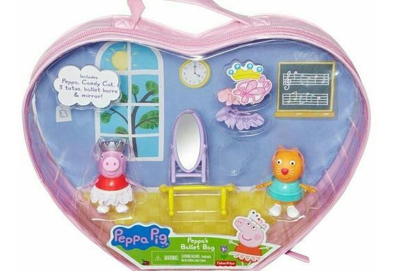 Peppa Pig Ballet Bag De Fisher Price. En 17 Trumps.