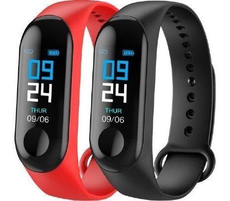 Relógio Inteligente M3 Plus + Brinde Fone Zíper Altomex