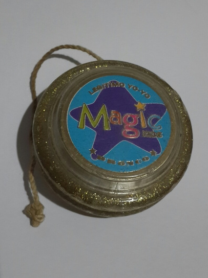 Yoyo Dorado Magic Kids Legítimo Yo-yo