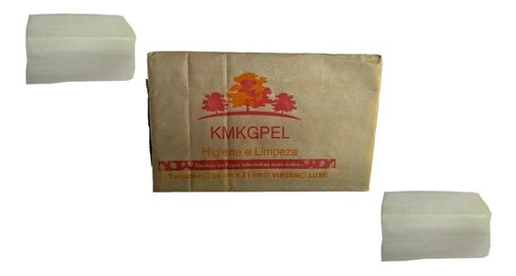 Papel Toalha Interfolha 100% Celulose Pacote C/5.000 Folhas